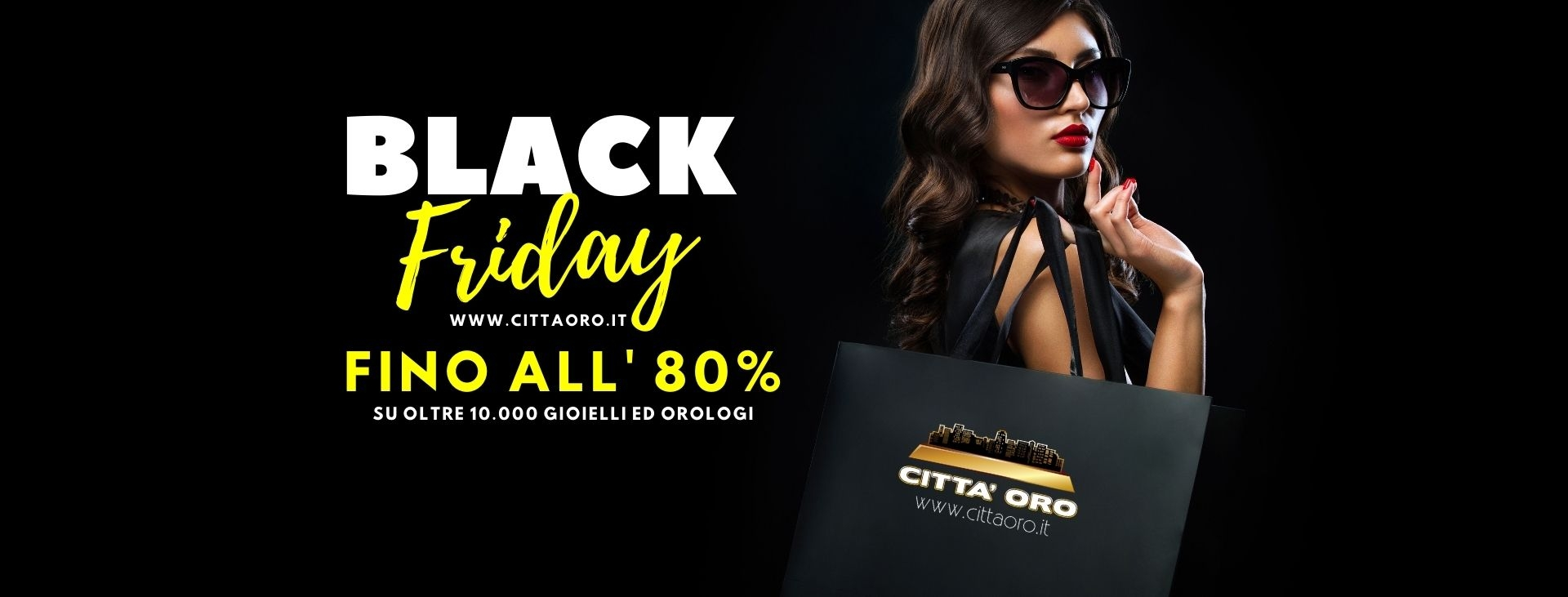 OFFERTE BLACK FRIDAY CITTAORO