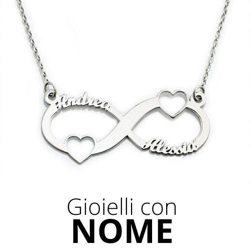gioielli personalizzati con nome, frase. Anelli personalizzati, bracciali personalizzati, collane