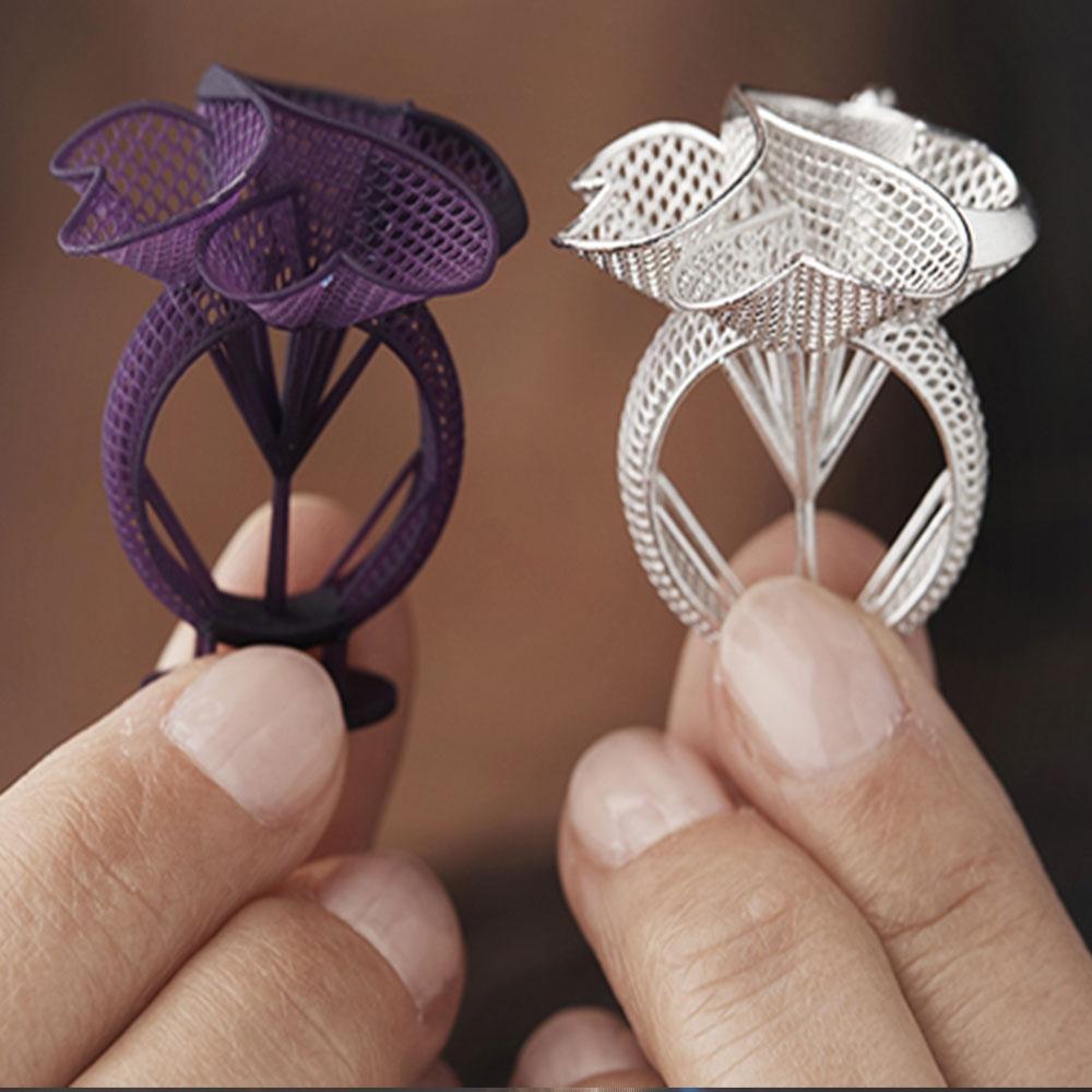 stampa 3d gioielli ed accessori