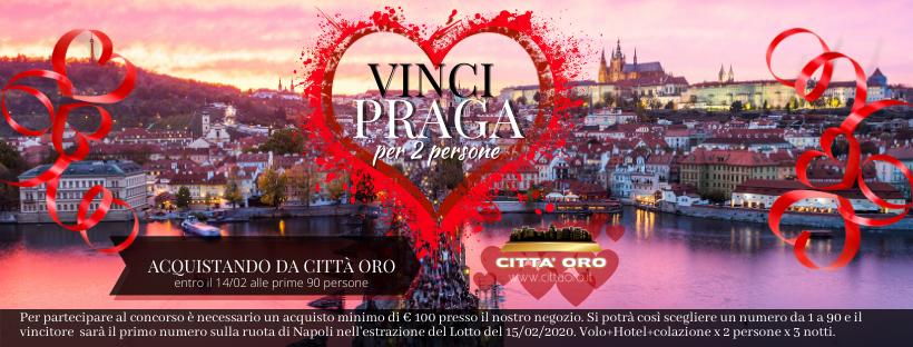 PROMO SAN VALENTINO VINCI PRAGA PER 2 PERSONE
